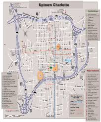 Charlotte Nc Airport Map Charlotte An Emerging Walkable Modern Day Megalopolis Modern Cities