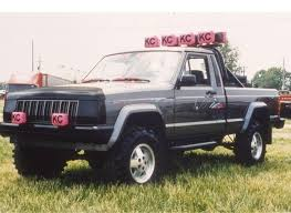1986 jeep comanche lifted superlift 2 5 lift kit for 1986 1991jeep comanche pickup mj 2wd and 4wd