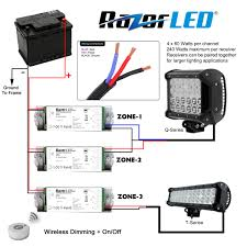 Waterproof Led Light Bar 12v by Led Light Bar Wiring Diagram With Switch Ceiling Fan Light Pull