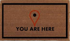 you are here map locator icon funny door mat coir doormat rug