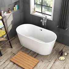 1500 x 750 mm designer freestanding bathtub luxury bathroom double 1500 x 750 mm designer freestanding bathtub luxury bathroom double ended bath br267 ibathuk amazon co uk kitchen home