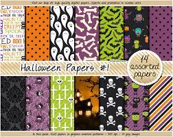 sale halloween digital paper halloween clipart halloween printable