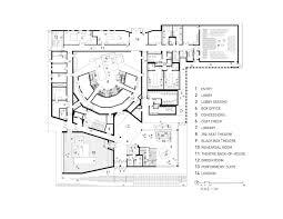cinema floor plans gallery of writers theatre studio gang architects 7