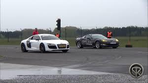 corvette vs audi r8 drag race audi r8 vs corvette c6 z06