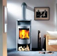 free standing wood burning stove with blower fireplace