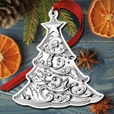 2017 gorham christmas tree 1st edition sterling ornament 2017