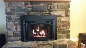 newly installed heat n glo escape gas fireplace insert heat n