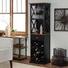 rustic wine cabinets furniture bar cabinet wine rack bottle storage rustic tall kitchen furniture