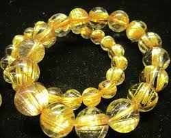 yellow quartz bracelet images Semi precious stone jewelry china supplier wholesale JPG
