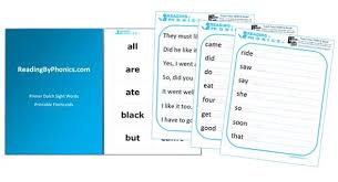 Sight Words Worksheets Printable 220 Dolch Sight Words Lists By Grade Level With Free Worksheets