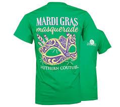 mardi gras t shirt southern couture preppy mardi gras mask t shirt simplycutetees