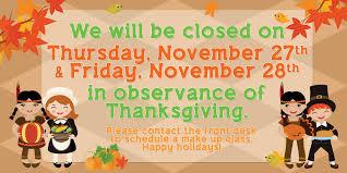 thanksgiving cs closure pacific west gymnastics