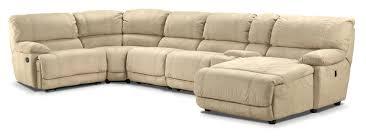 silvie upholstery 6 pc sectional leon u0027s leon u0027s furniture
