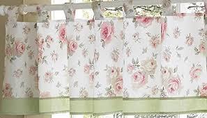 rileys roses shabby chic valance window treatments by sweet jojo
