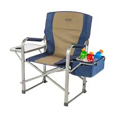 outdoor chair with table attached k rite director s chair with side table and cooler cc118 chairs