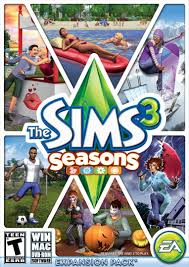 amazon com the sims 3 seasons pc video games
