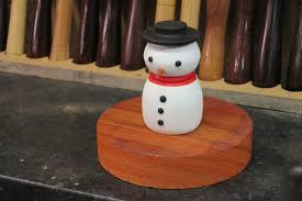 wood turning a snowman youtube