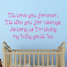 compare prices on child wall quote online shopping buy low price baby quote love children baby forever wall art stickers decal home diy decoration wall mural removable