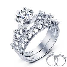 Art Deco Wedding Rings by Wedding Rings Art Deco Rings Sapphire Art Deco Filigree