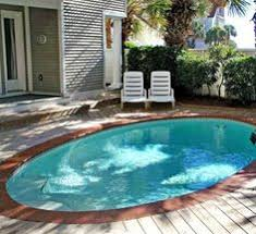 Backyard Swimming Pools by Small Swimming Pools Or Large Spas That Look Like Ponds Google