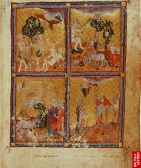 virtual books images only golden haggadah scenes from genesis