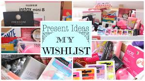 present ideas my wishlist