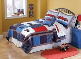 Kids Bedding Set For Boys by Red Sports Car Boys Bedding Full Queen Quilt Set Kids Race Car