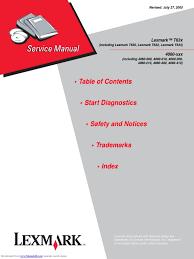 lexmark t630 lexmark t632 lexmark t634 service manual implied