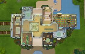 contemporary mansion floor plans sims 3 house beautiful designs