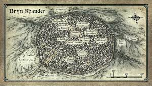 Map Of Faerun Bryn Shander Forgotten Realms Wiki Fandom Powered By Wikia