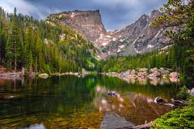 Colorado Lakes images Dream lake colorado the 3rd of the 4 lake trails in rocky flickr jpg