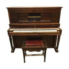 player piano roll cabinet upright pianos for sale at online auction buy vintage modern