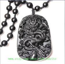 black jade necklace pendant images Elegant natural black jade hand carved dragon jade pendant natural jpg