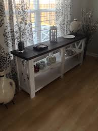 ana white console table a guide to white console table dreahatch table ideas white console