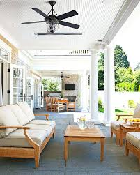 porch fans outdoor french doors from the home open up onto the