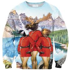 the most canadian thing sweater shelfies