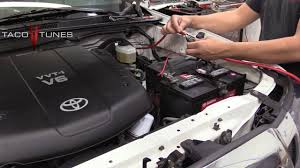 2005 toyota tacoma battery toyota tacoma amp power wire battery connection anl fuse holder