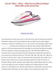 1996 kawasaki 750ss jet ski specs the best of jet 2017