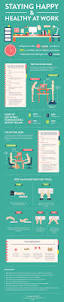 Learning Desk Staying Happy And Healthy At Work Infographic E Learning