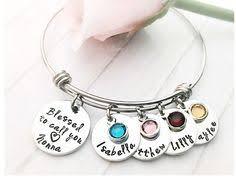 Meme Grandmother Gifts - etsy grandma bracelet personalized bracelet gift for mom grandma