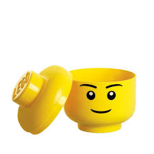 margarita emoticon amazon com lego storage head small boy toys u0026 games