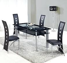 Black Extendable Dining Table Black Glass Dining Tables U2013 Zagons Co