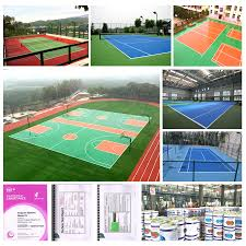 new design si pu basketball court covering best quality si pu