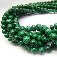 ornaments scattered malachite nib green 6 mm in