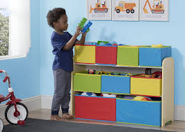 How To Make A Sling Bookcase Amazon Com Delta Children Multi Color Deluxe Toy Organizer With