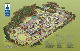 Usa Campus Map by Map Mount Aloysius College