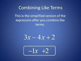 combining like terms and distributive property ppt video online