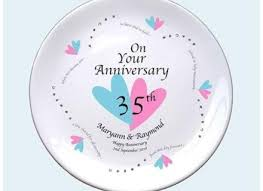 35th wedding anniversary gifts 35th wedding anniversary gift images wedding decoration ideas