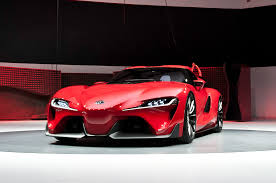toyota supercar toyota ft 1 concept first look motor trend