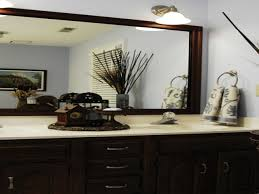 bathroom large framed bathroom vanity mirrors ideas bathroom